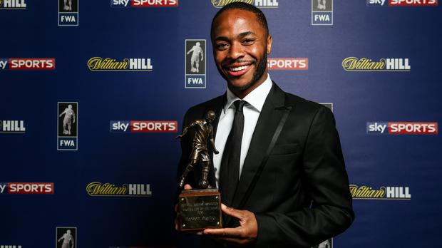 Raheem Sterling had a fine season for club and country (Steven Paston/PA)