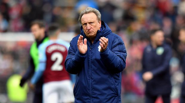 Cardiff manager Neil Warnock says Manchester United face a long road back to the top of English football (Anthony Devlin/PA)