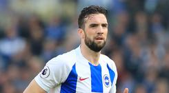 Shane Duffy wants the best from Brighton in their final game of the season (Gareth Fuller/PA)