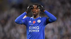 Kelechi Iheanacho has had a disappointing season in front of goal (Joe Giddens/PA)