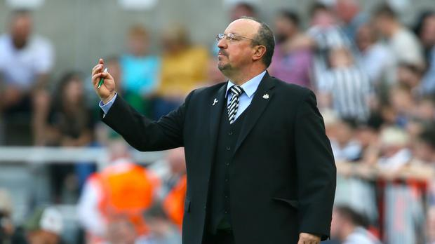 Newcastle manager Rafael Benitez will renew acquaintances with striker Aleksandar Mitrovic this weekend (Richard Sellers/PA)