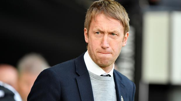 Graham Potter is favourite to become the new Brighton manager (Simon Galloway/PA)