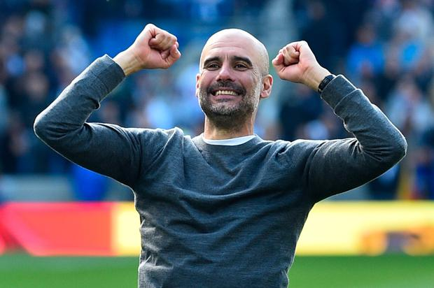 Pep Guardiola. Photo: AFP/Getty Images