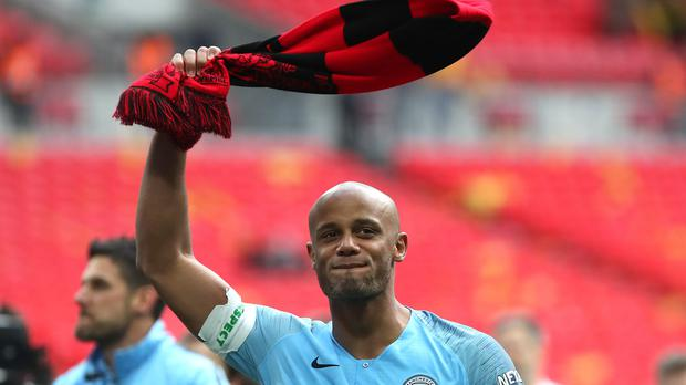 Vincent Kompany is leaving Manchester City this summer (Nick Potts/PA)