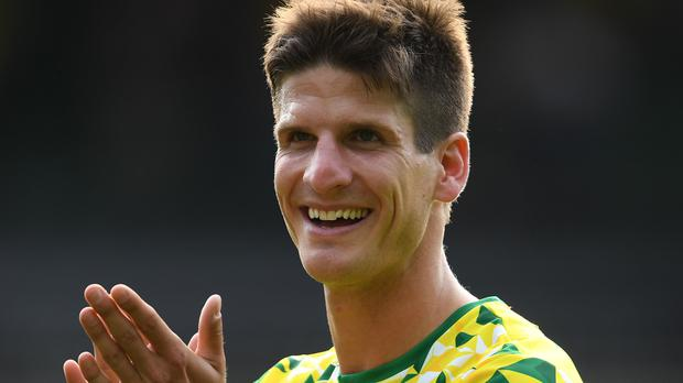 Norwich's Timm Klose has penned a new deal. (Joe Giddens/PA)
