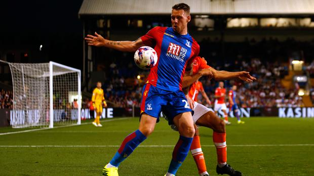 Crystal Palace striker Connor Wickham is looking to put his injury nightmare behind him after signing a new contract (Paul Harding/PA)