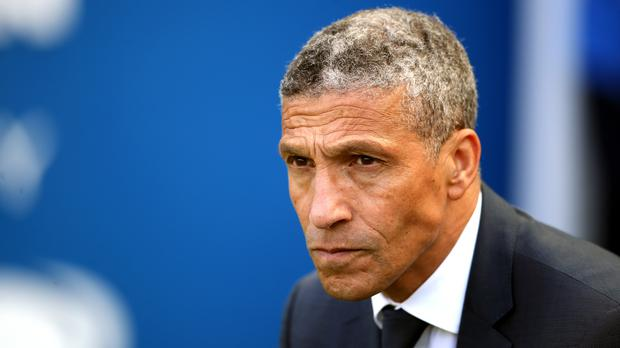 Chris Hughton was sacked by Brighton earlier this month (Nick Potts/PA)