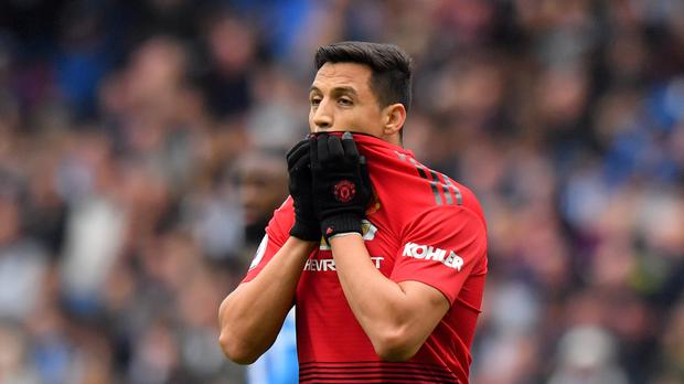 Alexis Sanchez has endured a torrid time at Manchester United (Anthony Devlin/PA)