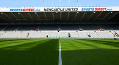 A Newcastle season-ticket holder has been banned from St James' Park for an indefinite period (Richard Sellers/PA)