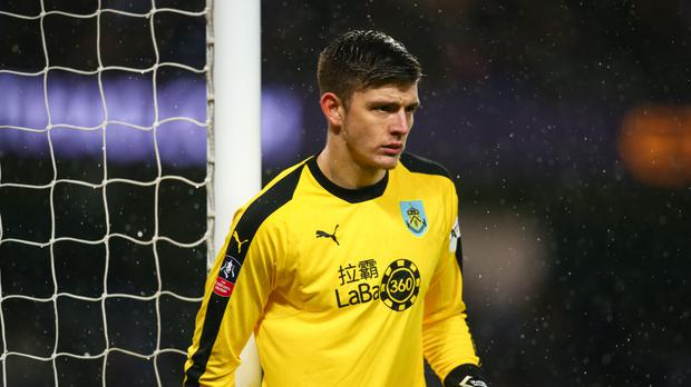 Nick Pope has agreed a long-term extension with Burnley (Dave Thompson/PA)