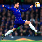 Eden Hazard: 'You need to go out on a high so that people remember you for the right reasons.' Photo: PA