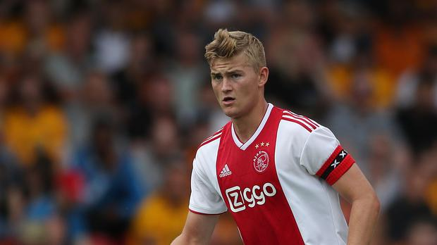 Matthijs De Ligt has signed a five-year deal with Juventus (PA)