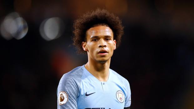 Leroy Sane has been linked with a move to Bayern Munich (Martin Rickett/PA)