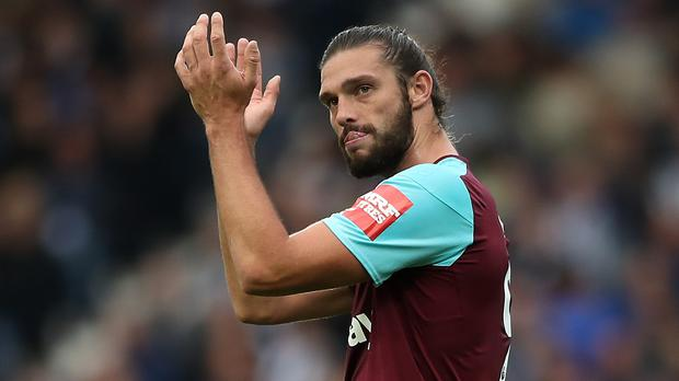 Andy Carroll will leave West Ham this summer (Nick Potts/PA)