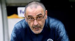 Maurizio Sarri has been linked with a move from Chelsea to Juventus (Steven Paston/PA)
