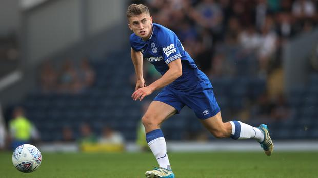 Everton defender Jonjoe Kenny is to join Schalke on loan next season (Nick Potts/PA)