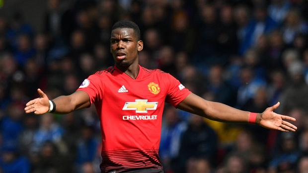 Paul Pogba believes it is better to tackle racists by performing on the field. (Anthony Devlin/PA)