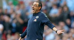 Maurizio Sarri had an impressive record during his one season in charge at Chelsea (Nigel French/PA)