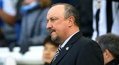 Newcastle manager Rafael Benitez is yet to sign a contract extension (Gareth Fuller/PA)