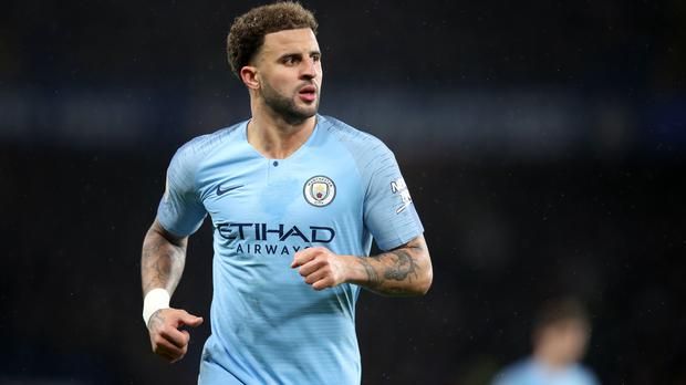 Kyle Walker is staying at Manchester City (Adam Davy/PA)
