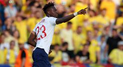Tammy Abraham scored in Friday's 4-2 defeat to Romania which dumped England Under-21s out of Euro 2019. (Nick Potts.PA)
