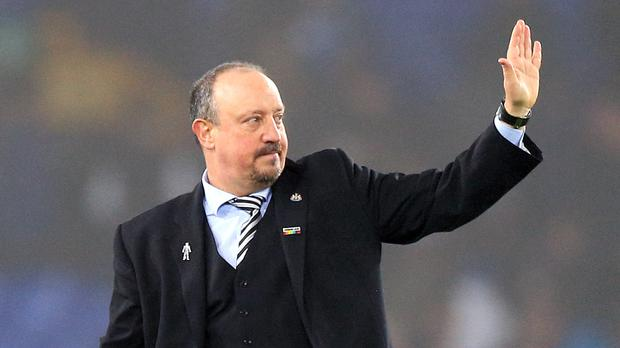 Rafael Benitez will wave goodbye to Newcastle on June 30. (Peter Byrne/PA)