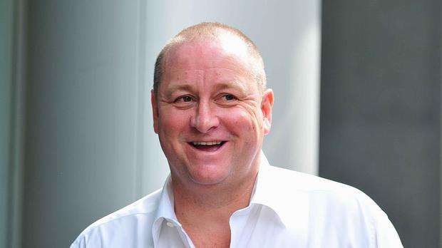 Newcastle owner Mike Ashley's search for a new manager will be dictated by takeover talks (Nick Ansell/PA)