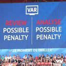 The Premier League will have to enforce new VAR rules at penalties next season (Richard Sellers/PA)