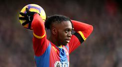 Crystal Palace's Aaron Wan-Bissaka is head to the north west (Paul Harding/PA)