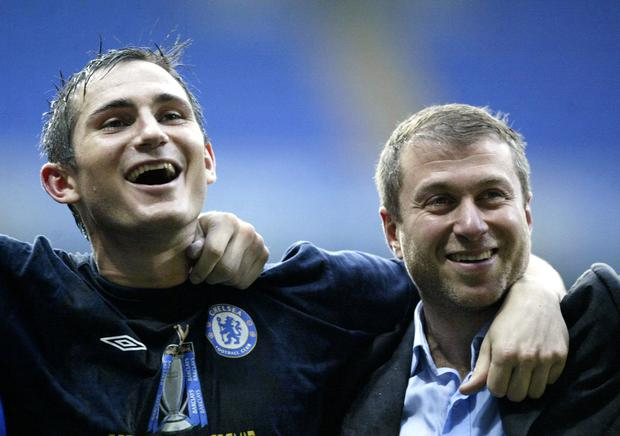 Frank Lampard could be working for Roman Abramovich again (Nick Potts/PA)