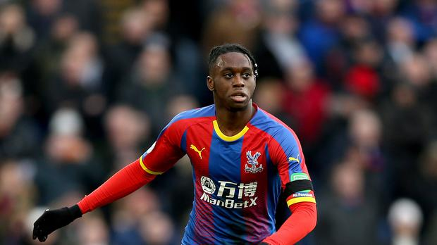 Aaron Wan-Bissaka has completed his move from Crystal Palace to Manchester United (Paul Harding/PA)