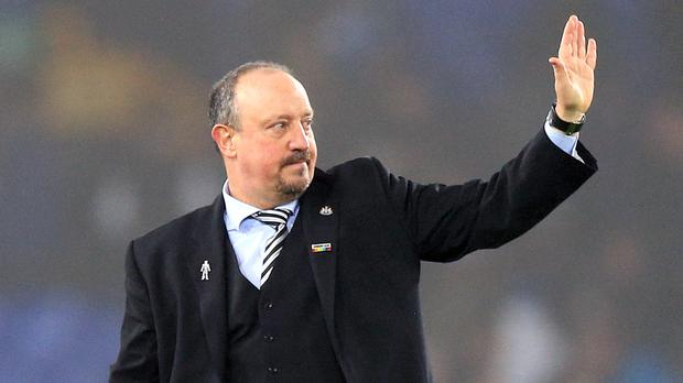 Former Newcastle manager Rafael Benitez wanted to sign a new contract but the club did not share his vision for the future (Nigel French/PA)