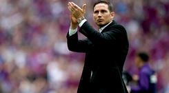 Frank Lampard was granted permission to speak with Chelsea on June 25 (John Walton/PA)