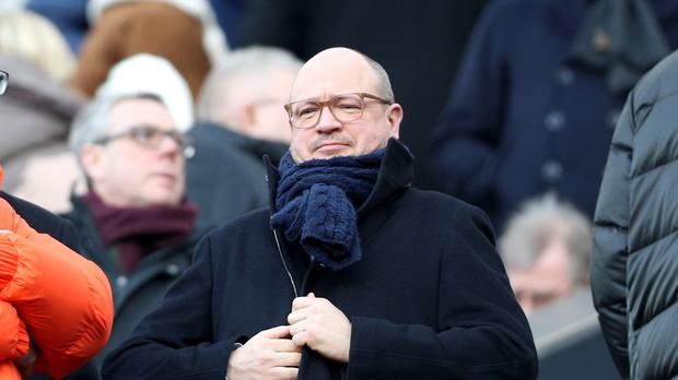 Newcastle managing director Lee Charnley is leading the search for a new manager (Owen Humphreys/PA)