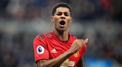 Marcus Rashford has signed a new deal with Manchester United (Owen Humphreys/PA)