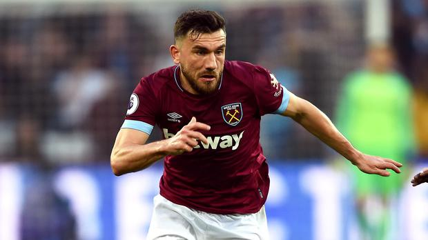 Robert Snodgrass has signed a one-year contract extension at West Ham (Daniel Hambury/PA)