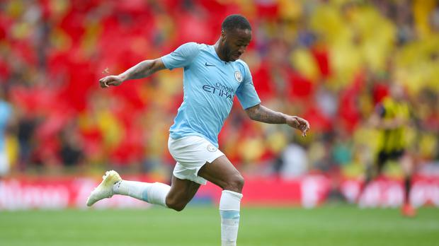 Raheem Sterling has not ruled out playing abroad one day (Nick Potts/PA)