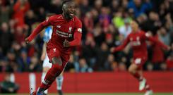 Liverpool midfielder Naby Keita's return to the African Nations Cup is in doubt (Peter Byrne/PA)