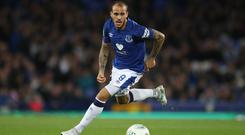 Everton's Sandro Ramirez has joined Real Valladolid on loan (Nick Potts/PA)