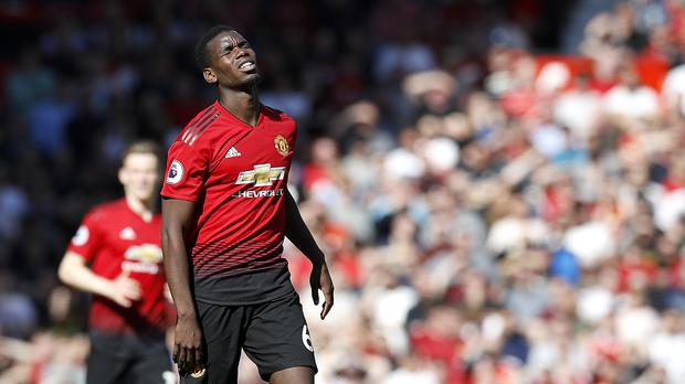 f28a413f33dd5 Manchester United's Paul Pogba continues to be the subject of transfer  rumours (Martin Rickett/