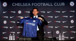Frank Lampard has returned to Chelsea as manager. Photo: PA