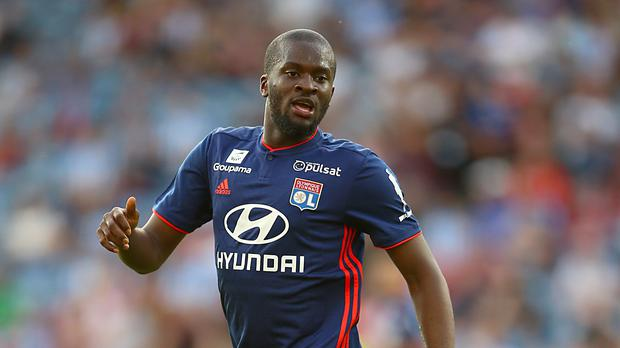 Tanguy Ndombele became Spurs' record signing on Tuesday (Nigel French/PA)