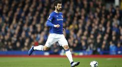 Everton midfielder Andre Gomes admits the pressure of playing for Barcelona affected him (Martin Rickett/PA)