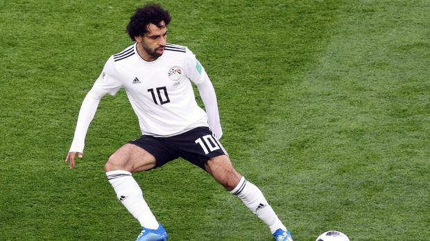 Egypt coach Javier Aguirre believes Mohamed Salah during the FIFA World Cup 2018, Group A match at Saint Petersburg Stadium could win the Ballon d'Or (Owen Humphreys/PA)