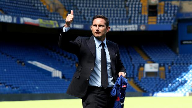 Frank Lampard was announced as Chelsea's new head coach on Thursday. (Yui Mok/PA)