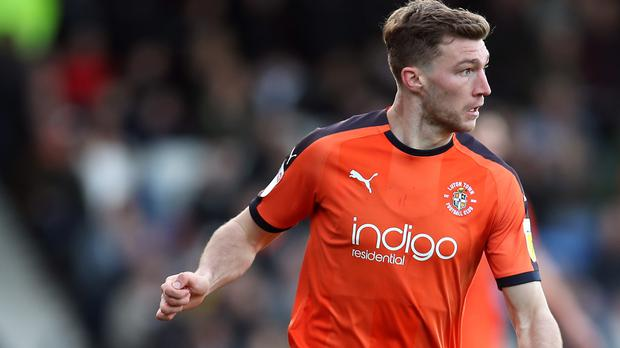 Jack Stacey won successive promotions with Luton (Chris Radburn/PA)
