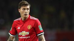 Lindelof established himself as first-choice centre-half last season after a troubled debut campaign. Photo: Martin Rickett/PA