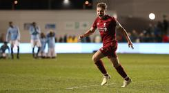 Teenager Paul Glatzel will be among a number of youngsters included in Liverpool's pre-season squad (Martin Rickett/PA)