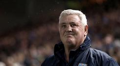 Newcastle are ready to make an approach for Sheffield Wednesday manager Steve Bruce (Simon Cooper/PA)