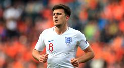 Manchester United are reportedly still hoping to prise Harry Maguire away from Leicester (Mike Egerton/PA)